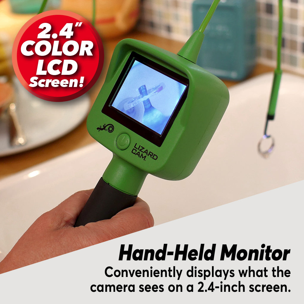 Lizard Cam 2.4 color LCD and handheld monitor
