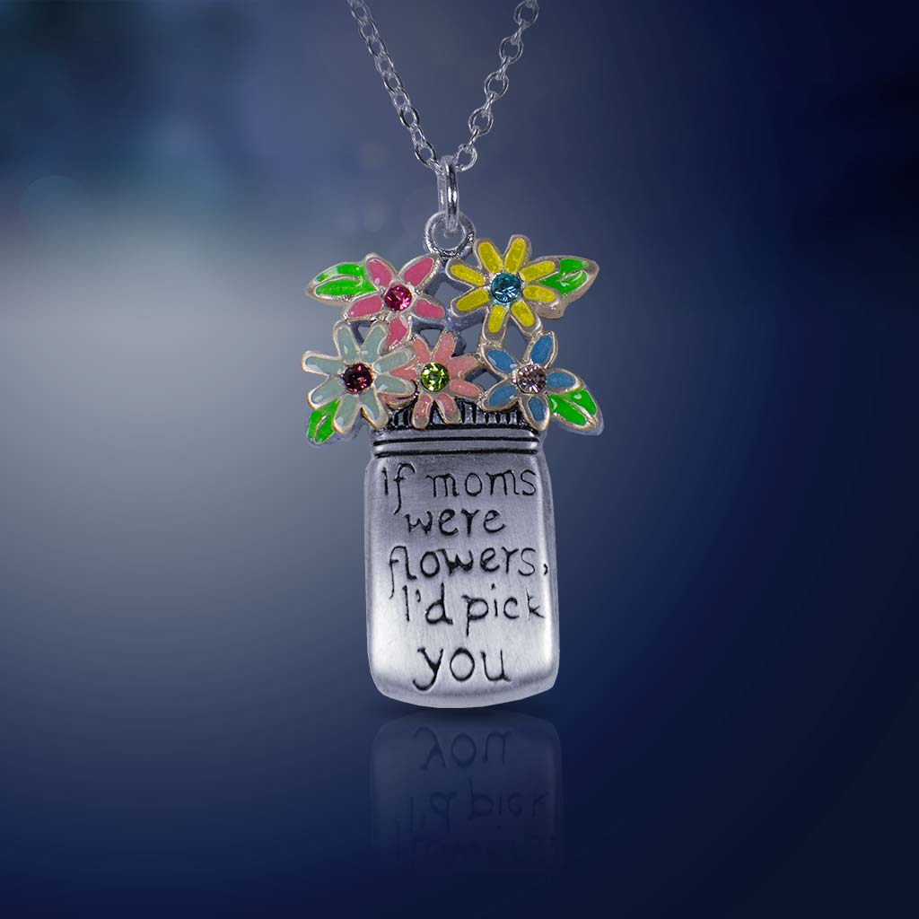 Mom's Garden Flower Necklace