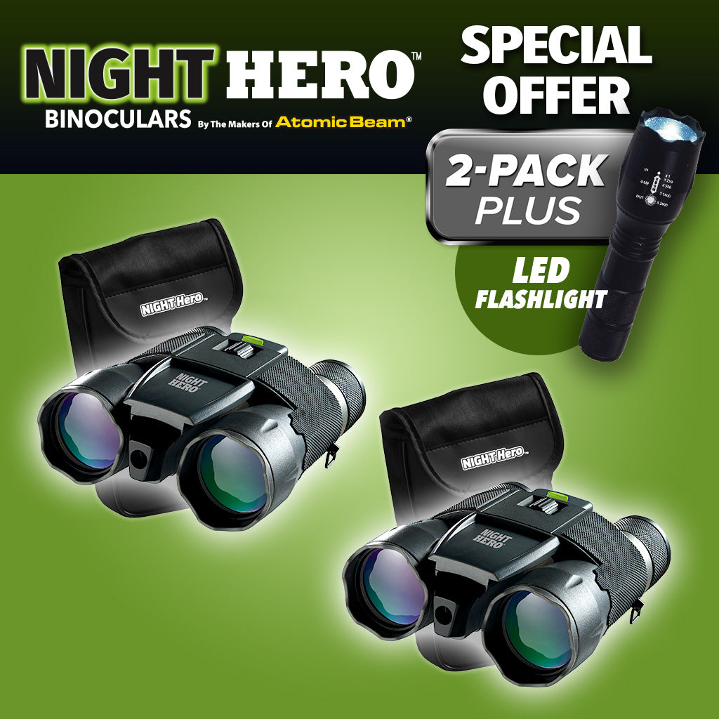 Night Hero Night Vision Binoculars Bulbhead