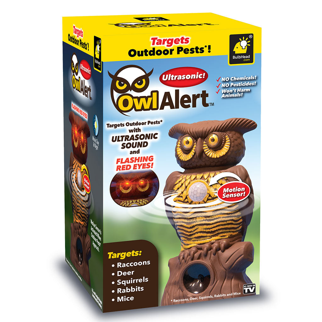 Owl Alert packaging