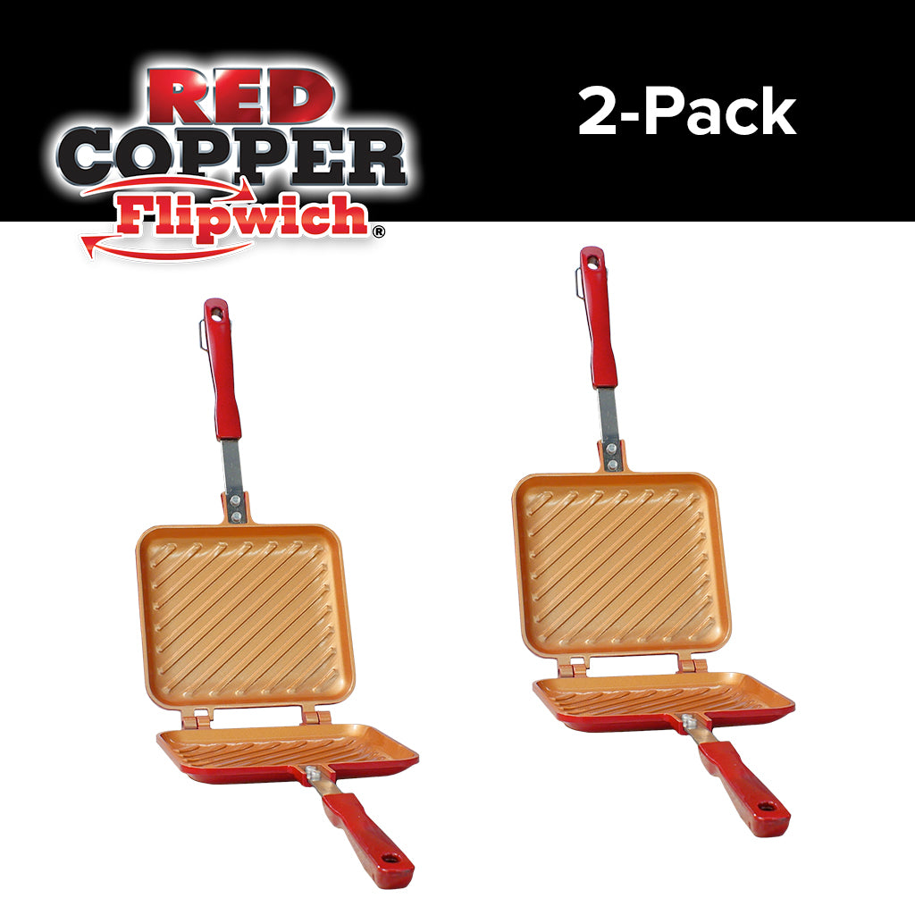 Red Copper Flipwich Sandwich Maker Bulbhead