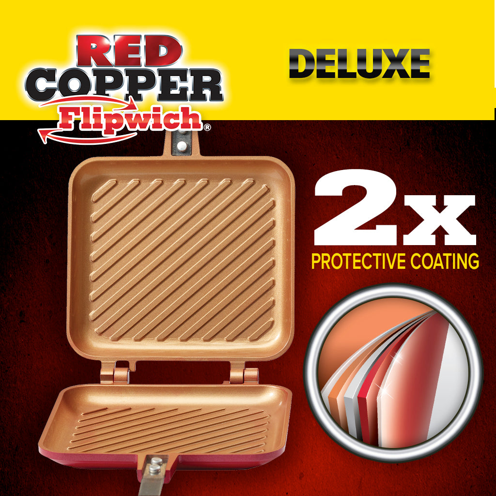Deluxe Red Copper Flipwich