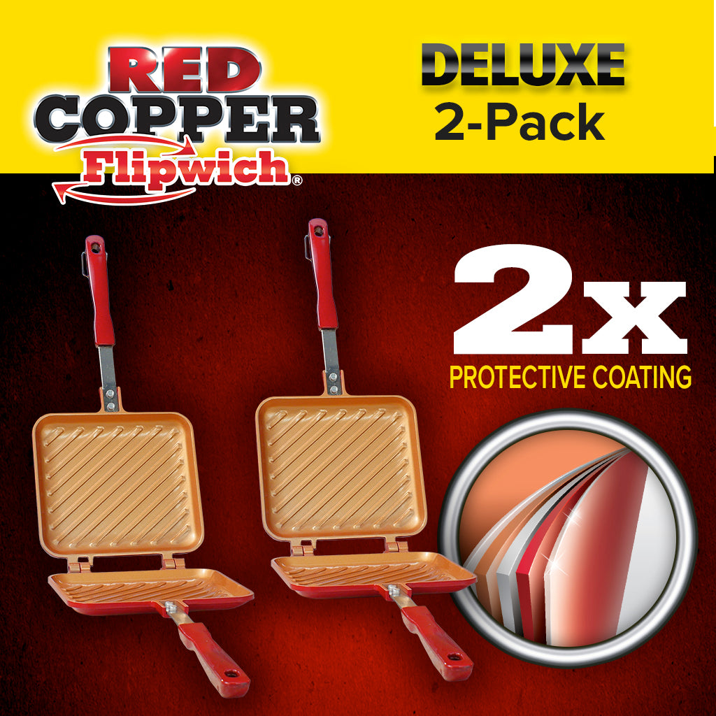 Deluxe Red Copper Flipwich 2-Pack