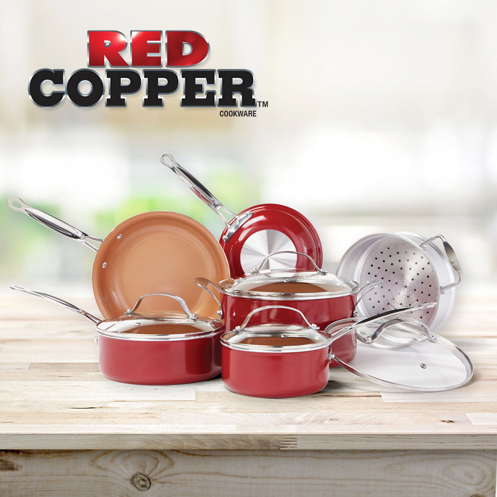 Bavarian Edge + Red Copper 10 PC Set