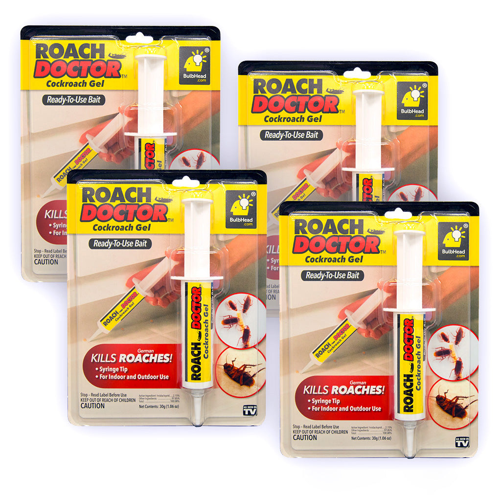 Roach Doctor packaging 4-pack