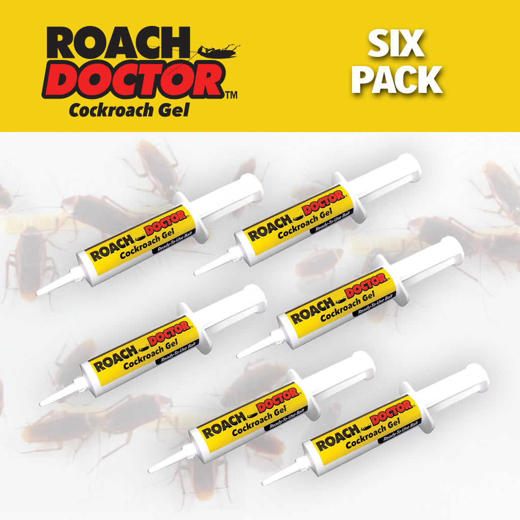 Roach Doctor silo images with Logo set of 6
