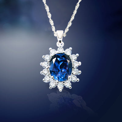 Royal Heirloom Sapphire Necklace
