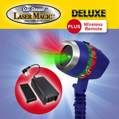 Deluxe Star Shower Laser Magic