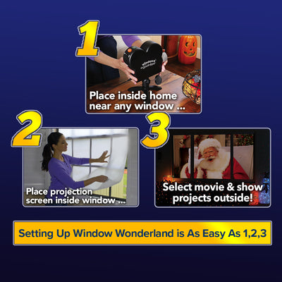 Deluxe Star Shower Window Wonderland 2-Pack