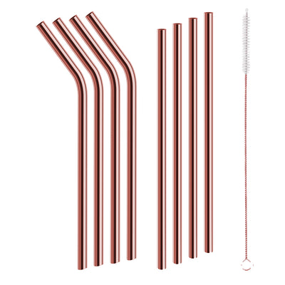 Red Copper Straws