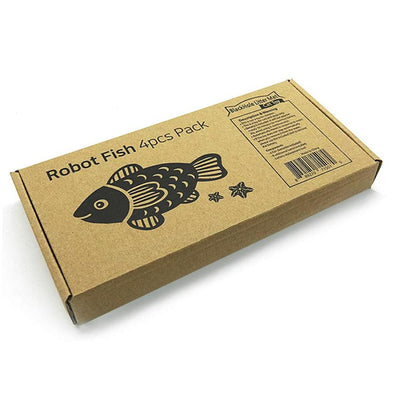 Closed box of Interactive Fish Toys for Cats