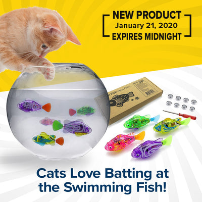 Interactive Fish Toys For Cats