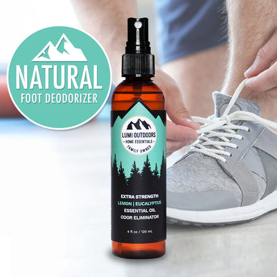 Natural Foot Deodorizer