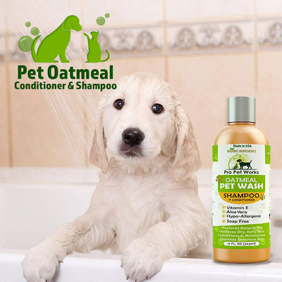 Pet Oatmeal Conditioner & Shampoo