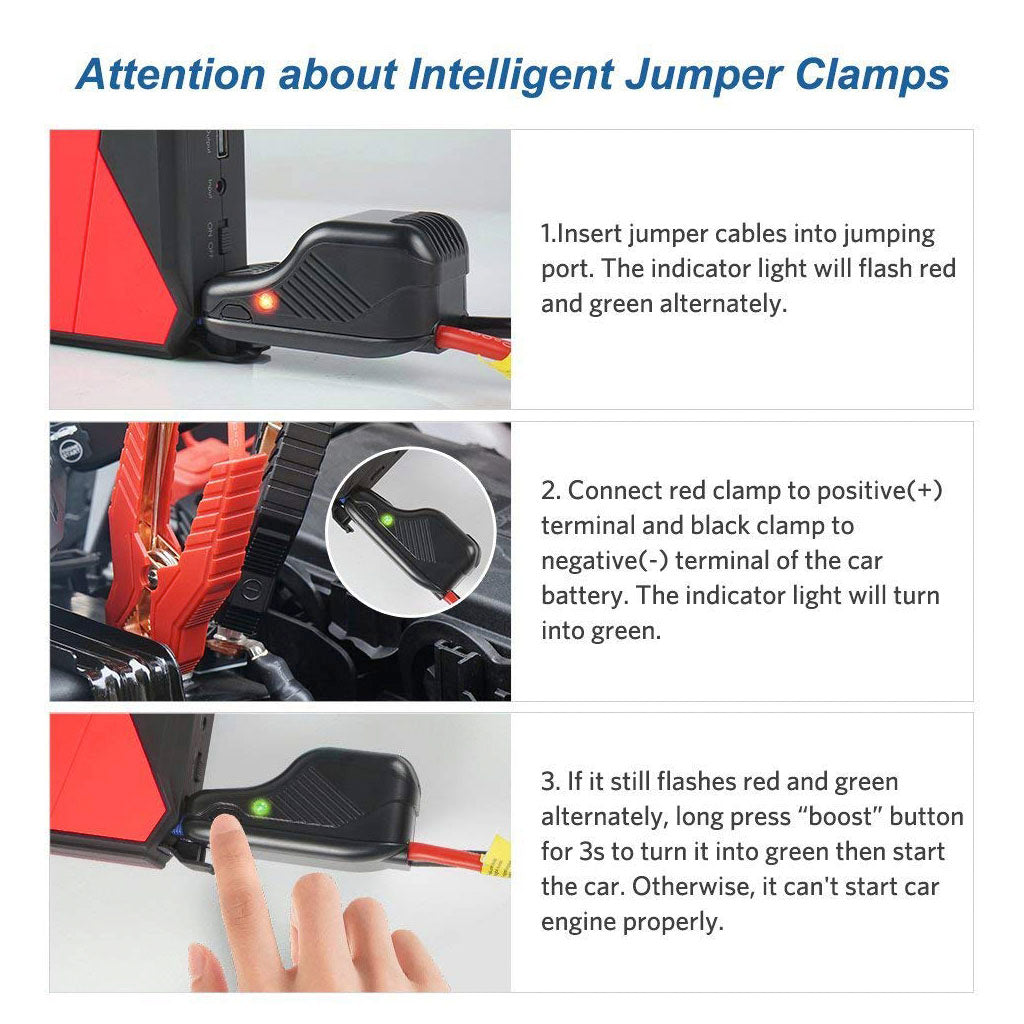 Portable Jump Starter for Car