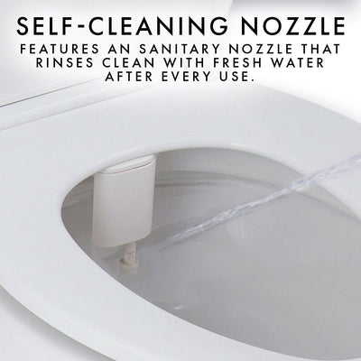 Self-Cleaning Bidet Toilet Attachment