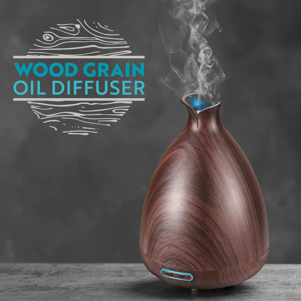 Wood Grain Oil Diffuser