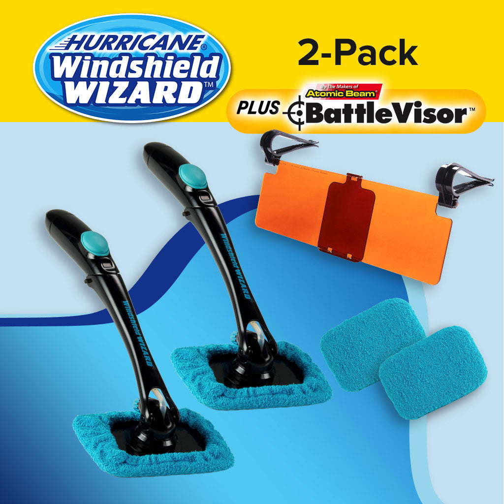 Hurricane Windshield Wizard 2-Pack Special Offer