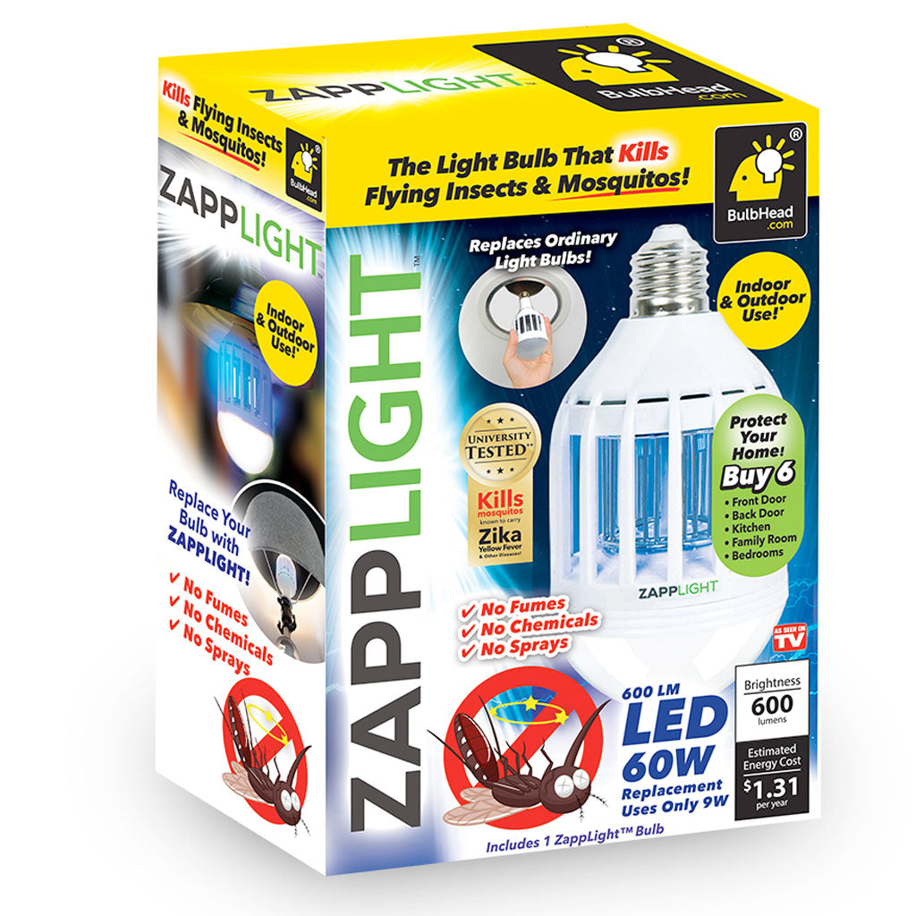 ZappLight - LED Light and Bug Zapper