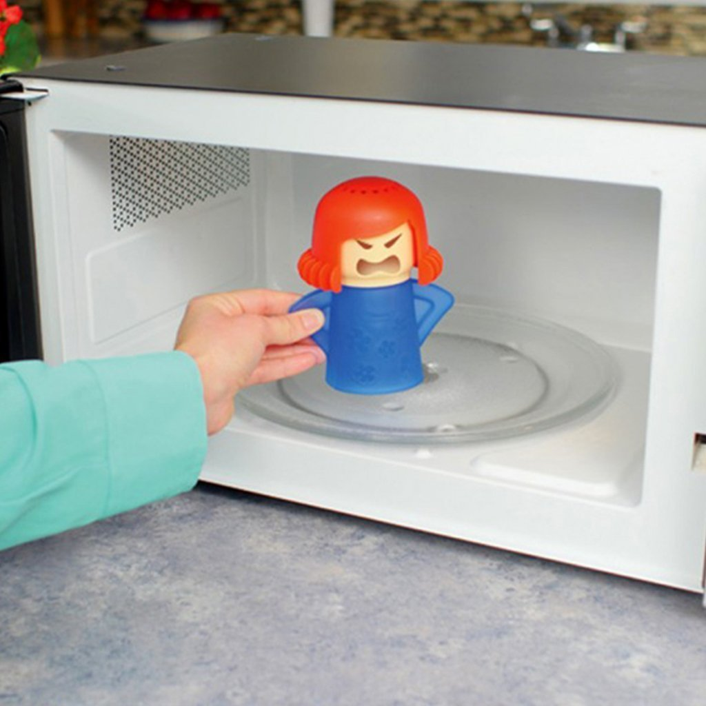Angry Mama Microwave Cleaner image from BulbHead