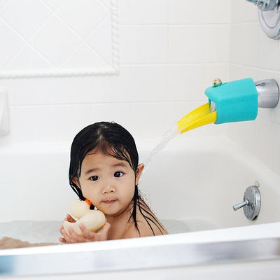 Aqueduck Bath Spout Extender Plus Cover image from BulbHead