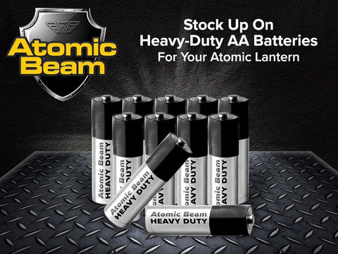 Atomic beam heavy duty aa batteries 12 pack bulbhead 2384441081914 large
