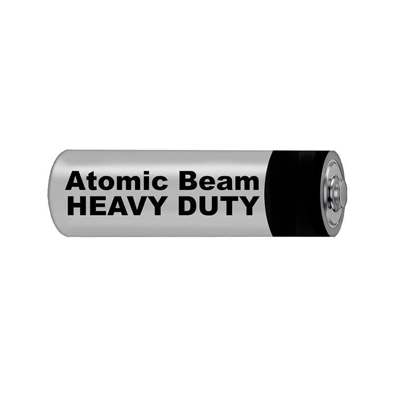 Atomic Beam Heavy Duty AA Batteries - 12 Pack image from BulbHead