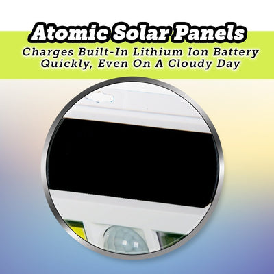 Deluxe Atomic Beam SunBlast Special Offer silo showing solar panels