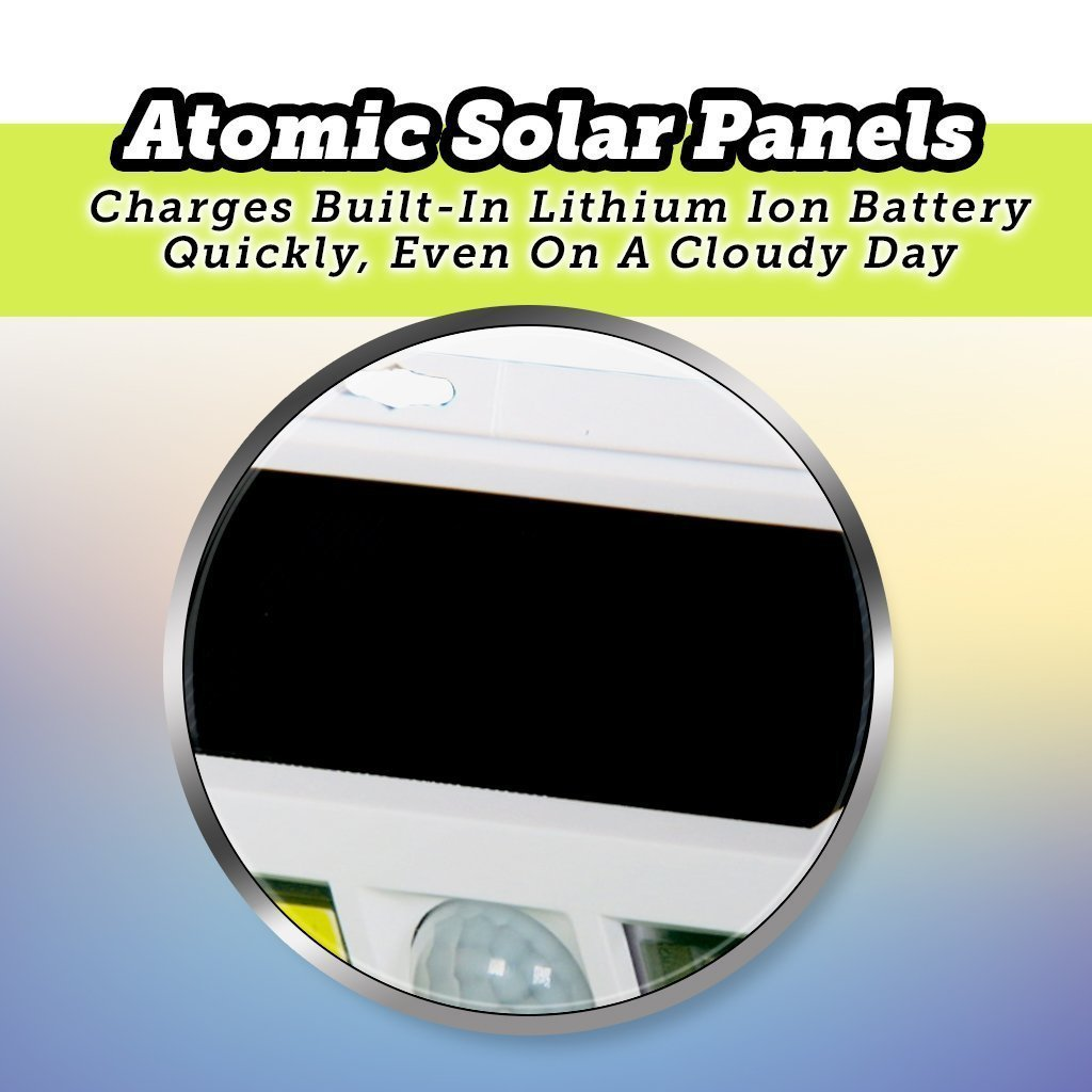 Atomic Beam SunBlast Special Offer silo showing solar panels