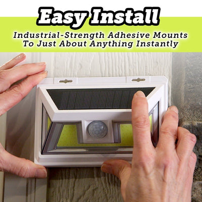 Atomic Beam SunBlast Motion Sensor Light easy install