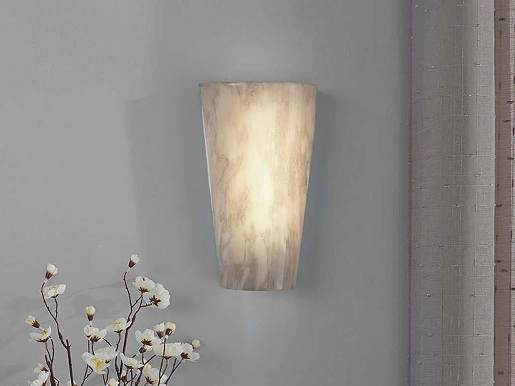 STONE Battery Operated Led Wall Sconce image from BulbHead