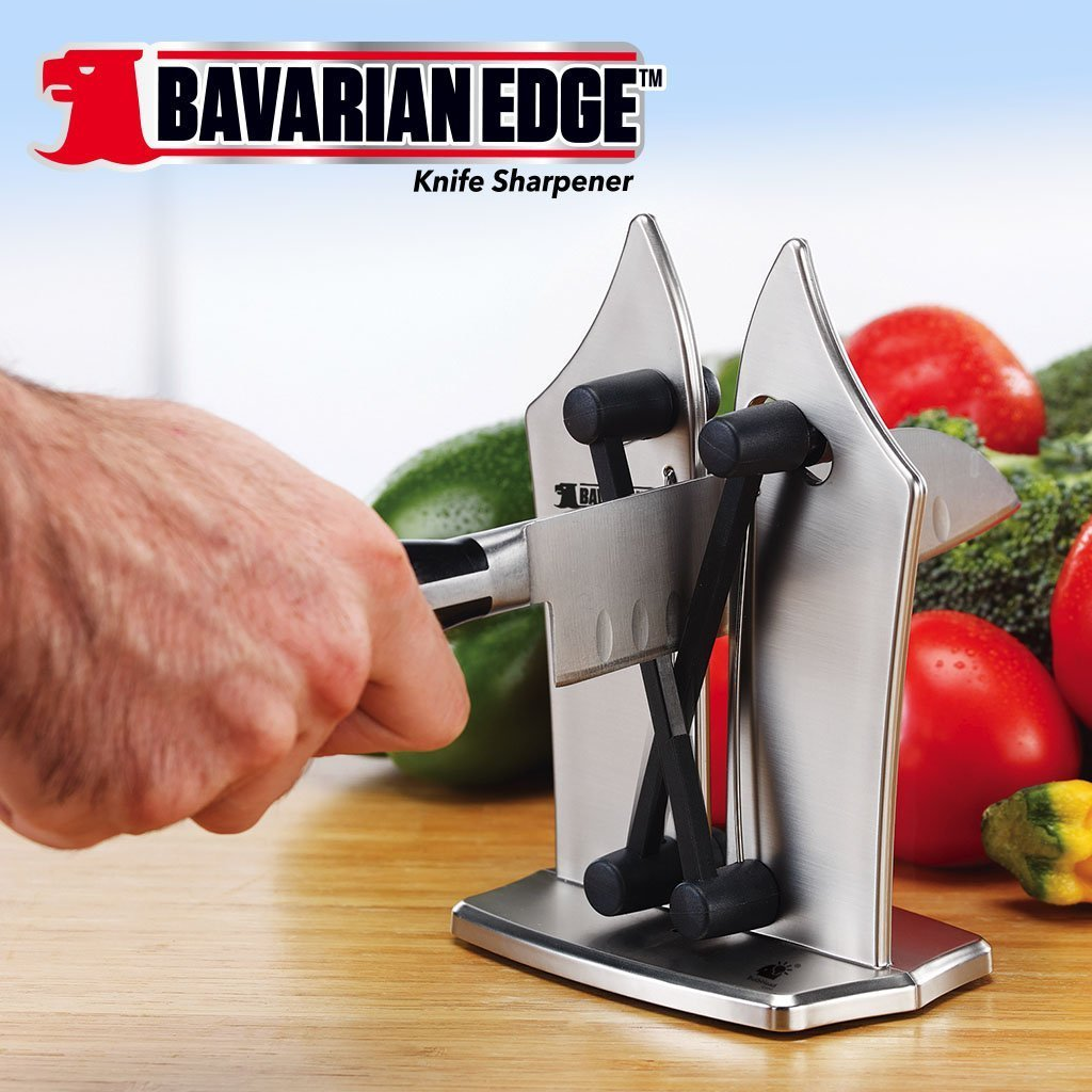 Bavarian Edge Knife Sharpener knife in use