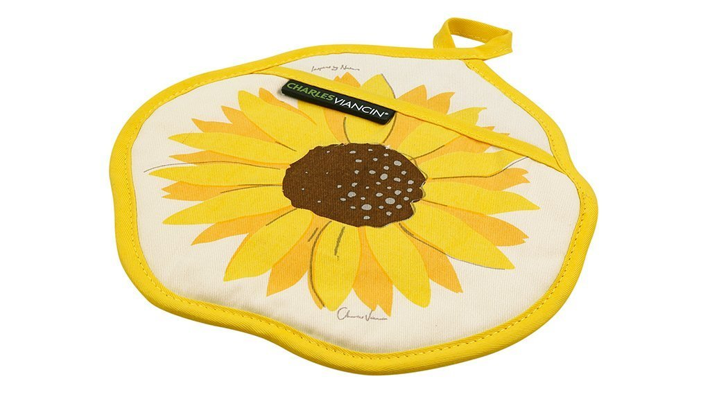 SUNFLOWERS Charles Viancin Potholder image from BulbHead
