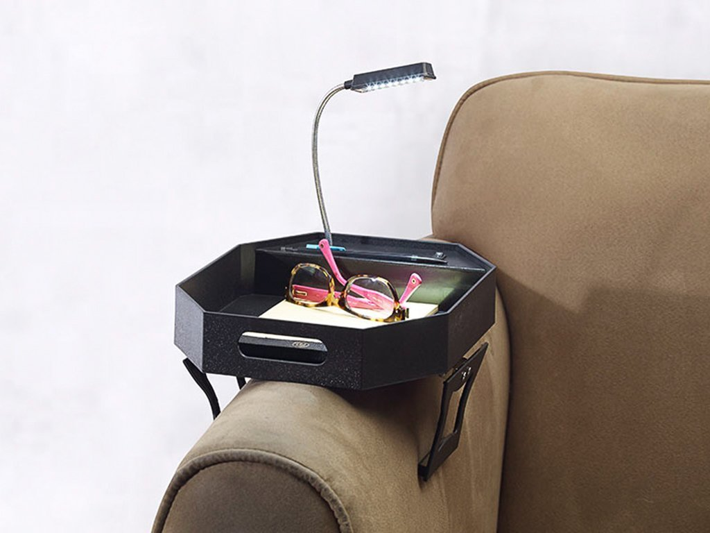 Clip on Sofa Tray W/Light image from BulbHead