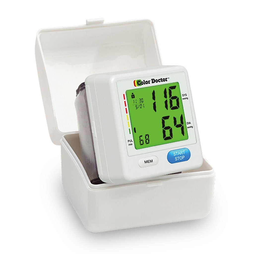 Color Doctor Blood Pressure Monitor silo image from BulbHead
