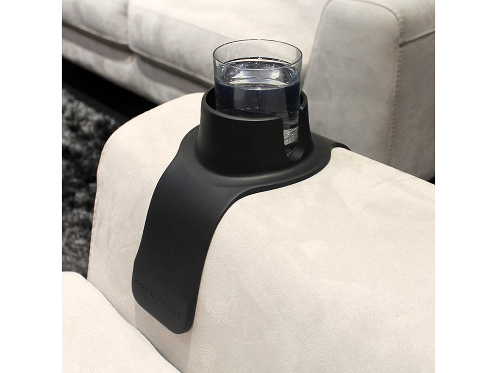 Couch Coaster The Couch Cup Holder With Rubber Grips