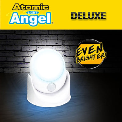 Deluxe Atomic Angel Motion Activated Cordless LED Light brighter silo image from BulbHead