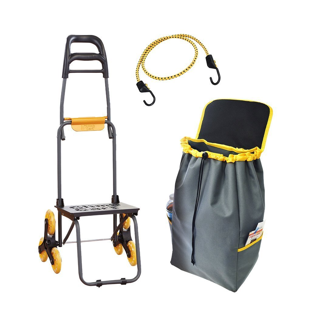 Deluxe Climb Cart Stair Climbing Folding Cart silo image from BulbHead