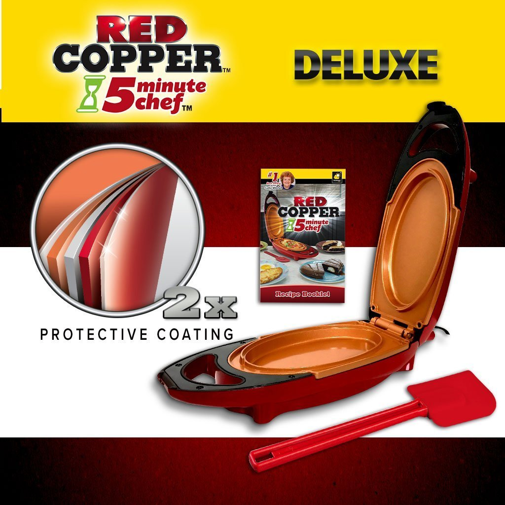 Deluxe Red Copper 5 Minute Chef image from BulbHead