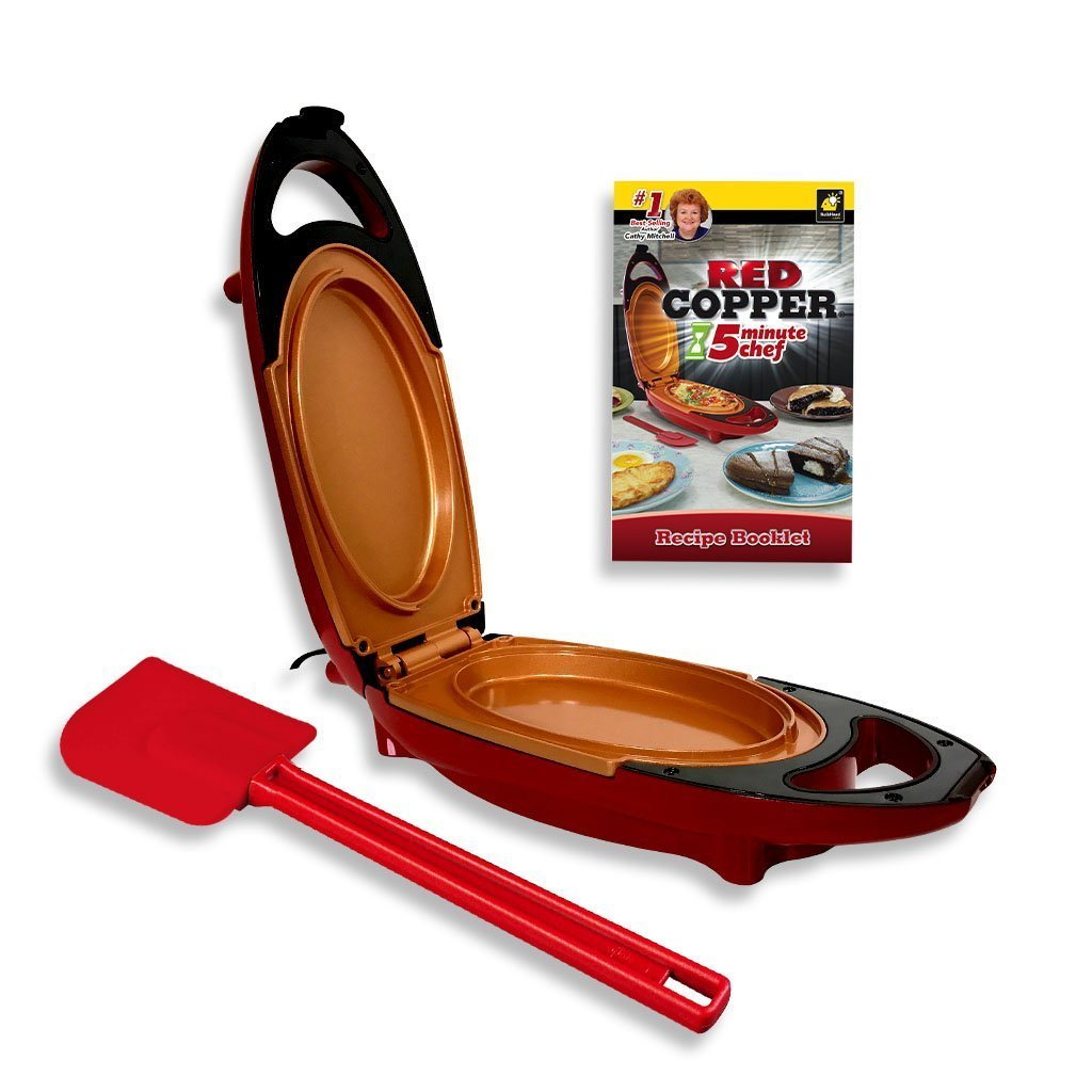Red Copper 5 Minute Chef Deluxe Bulbhead