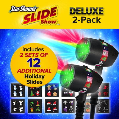 Deluxe Star Shower Slideshow 2-Pack image from BulbHead