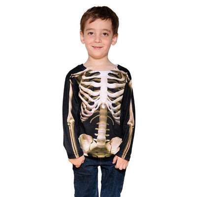 Faux Real Skeleton Toddler Long Sleeve T-shirt image from BulbHead