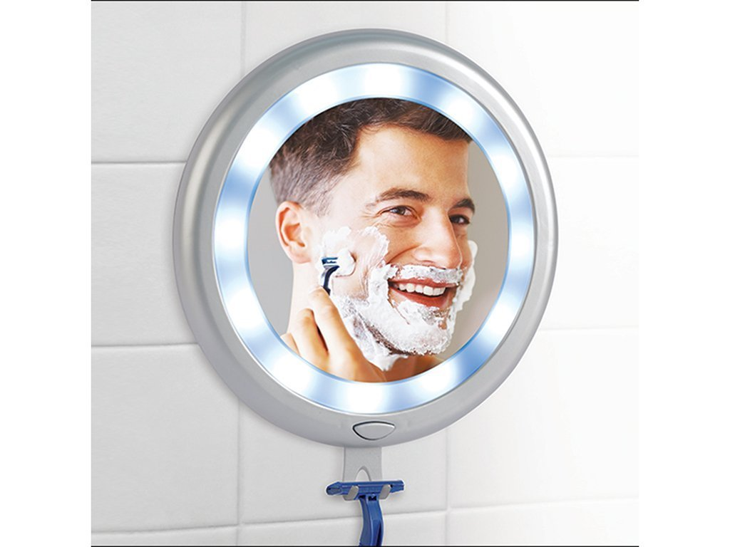 Fogless LED Shower Mirror image from BulbHead