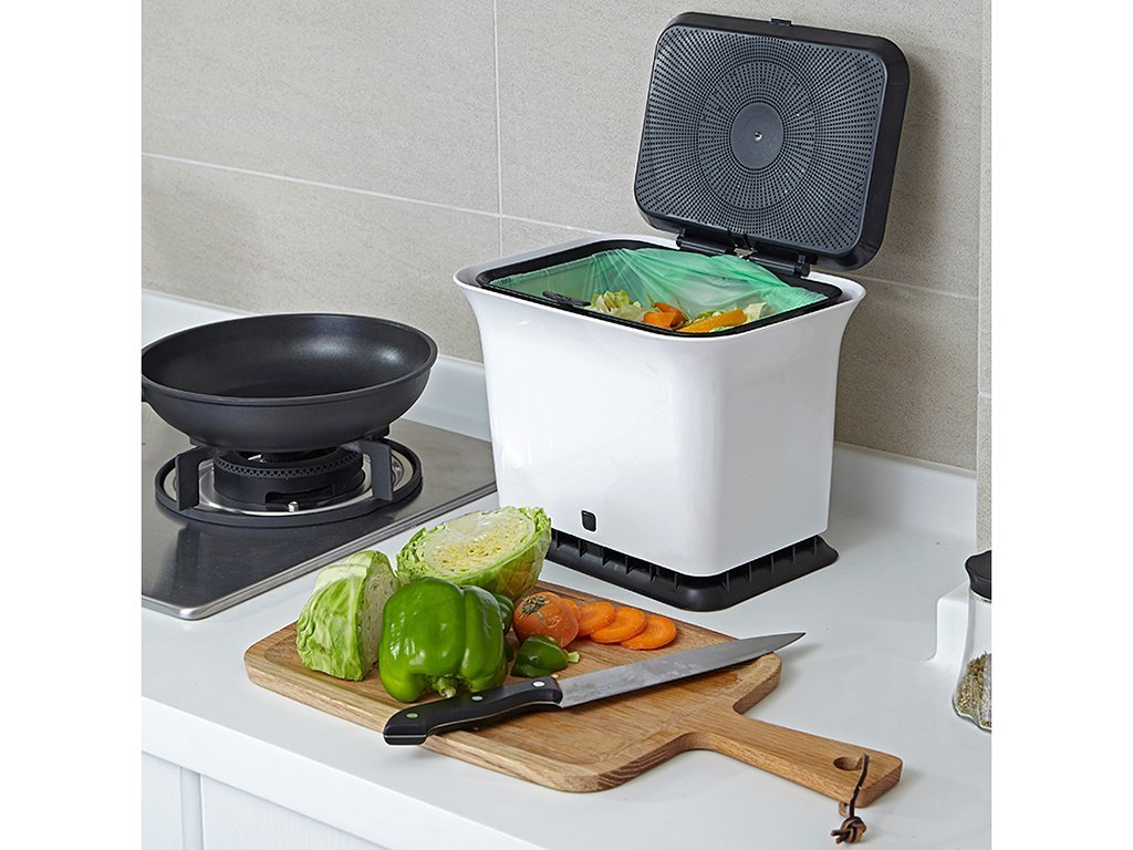 Full Circle Fresh Air Odor-Free Kitchen Compost Collector image from BulbHead
