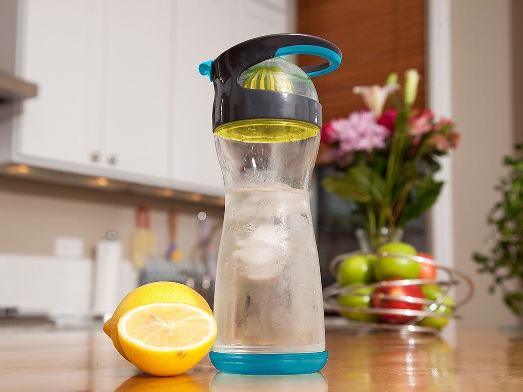 Full Circle Wherever Water Glass Travel Bottle image from BulbHead