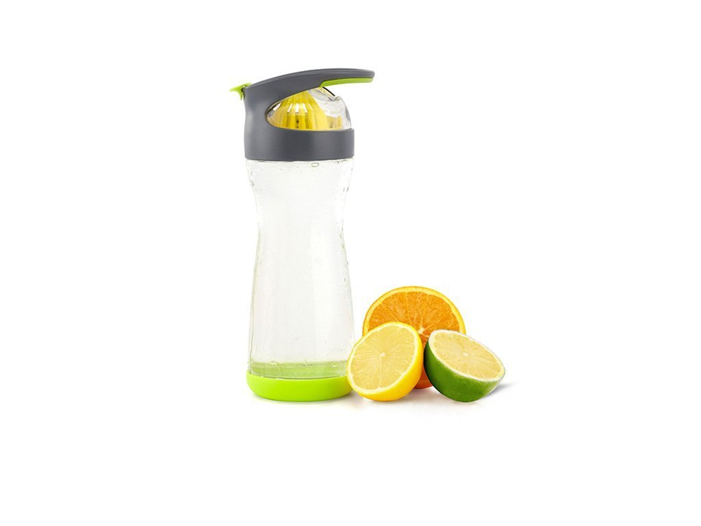 LIME Full Circle Wherever Water Glass Travel Bottle image from BulbHead