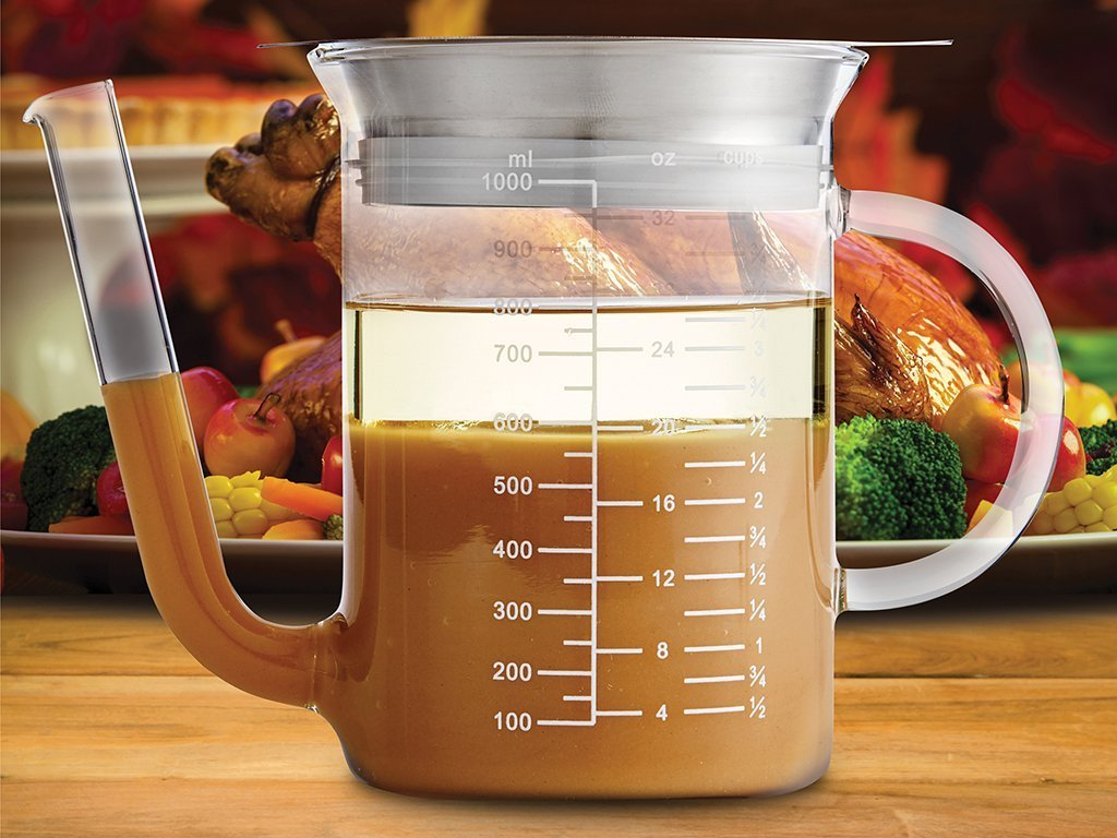 Glass Gravy Strainer And Fat Separator image from BulbHead