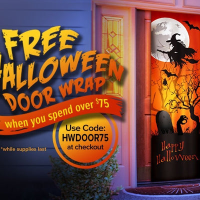Halloween Door Wrap image from BulbHead