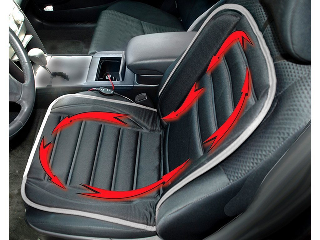 Heated Car Cushion image from BulbHead