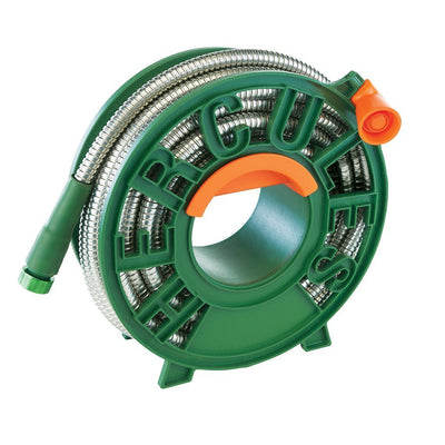 Hercules Hose rolled up in a reel silo image from BulbHead